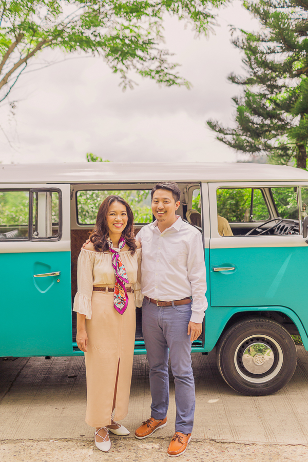 philippines wedding photographer, rock paper scissors photography, combi van engagement session, cuckoo cloud concepts, make up by erika diaz, contemporary wedding photographer