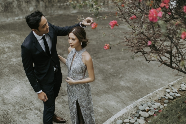 Kryz Uy And Slater Young Chinese Engagement Ceremony Rock Paper